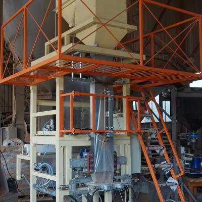 Vertical fill-form-seal machine